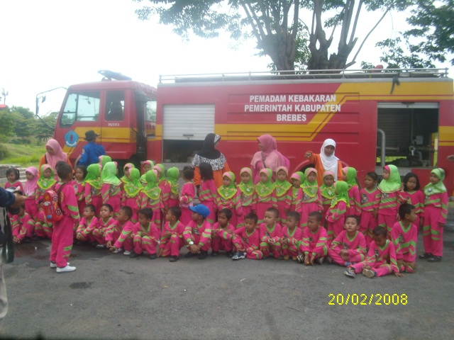 Anak-anak TK Aisyah Pemaron Kabupaten Brebes