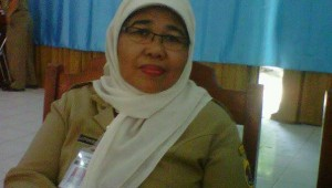Dra Luthfiatul Latifah , Kepala Badan Kepegawaian Daerah (BKD) Kabupaten Brebes