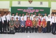 Wakil Bupati Brebes Narjo, beserta pesertaq Diklat Calon Kepala Sekolah bertempat di Islamic Centre