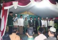 Pelantikan MWCNU Tanjung bertempat di Majelis Taklim Assidiqiyah Desa Sengon, Tanjung Brebes pada Kamis (26/6/14)
