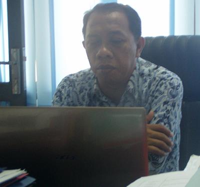 Kepala Bidang Pendidikan Dasar Dinas Pendidikan Kota Tegal Herdyanto, SH.