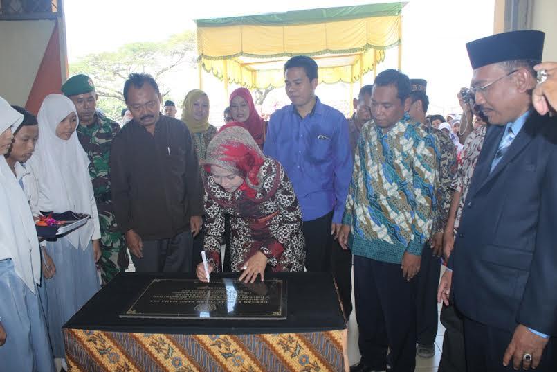 Peresmian Dua Jurusan Baru SMK Nurul Islam oleh Bupati Brebes Hj. Idza Priyanti