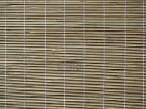 Kerajinan tirai dari  bambu