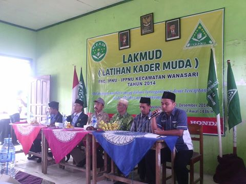 Latihan Kader Muda IPNU dan IPPNU di MTs Wachid Hasyim Jagalepeni Wanasari 30/29
